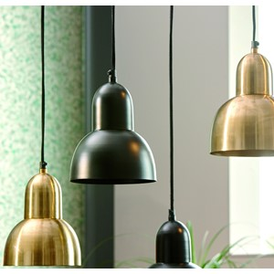 ENRICA HANGING LAMP BLACK L