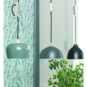 PLACIDA HANGING LAMP GREY