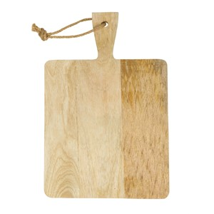 CHOPPING BOARD WOOD SQUARE