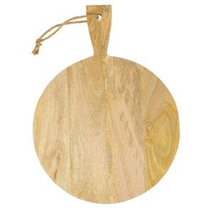 CHOPPING BOARD WOOD ROUND S