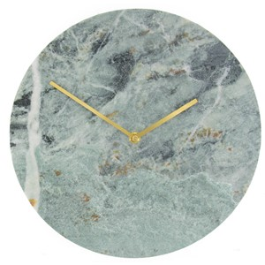 MARBLE CLOCK GREEN