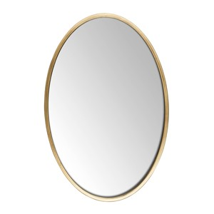ANTIQUE MIRROR OVAL L