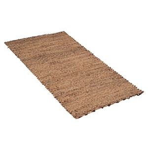 WOVEN LIGHT BROWN WATER HYACHINT RUNNER 120 CM