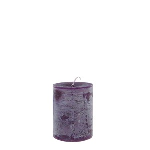 DANIEL CANDLE Ø7X10 PURPLE
