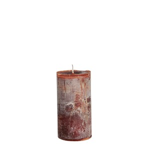 LARS CANDLE Ø7X15 COCOABROWN