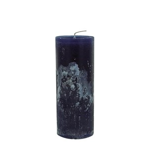 BERNARD CANDLE Ø7X20 DARK BLUE