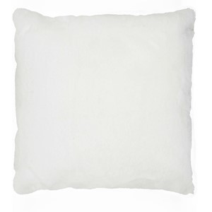 LYALL FUR PILLOW WHITE 50x50