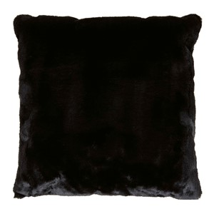 LYALL FUR PILLOW BLACK 50x50