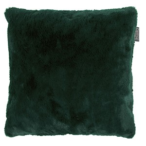 LYALL FUR PILLOW GREEN 50x50