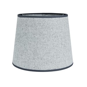 OXFORD COTTON SHADE ROUND LIGHT GREY M