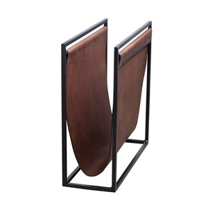 FREEMAN MAGAZINE HOLDER S LIGHT BROWN