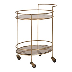 NOHA TROLLEY ANTIQUE GOLD