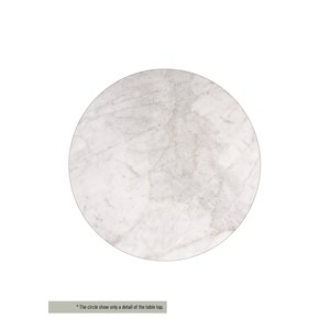 HENDERSON/CLINTON TABLE TOP MARBLE WHITE