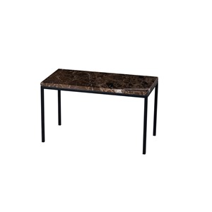 WESTFORD COFFEE TABLE MARBLE BROWN 60X30X35