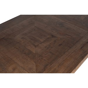 MANGO WOOD & IRON OBLING DINING TABLE